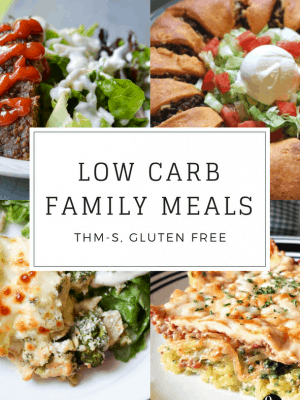 20 Low Carb Family Meals