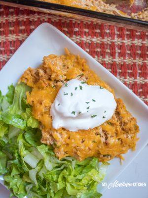 Taco Chicken Casserole