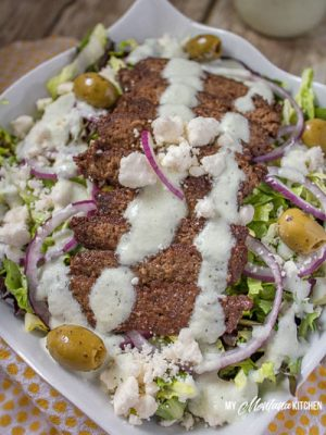 Greek Gyro Salad Recipe