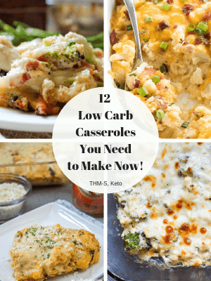 These easy keto casseroles are perfect for low carb family dinners. Low Carb Comfort food at its best! Each recipe is low carb, gluten free, and makes a hearty and delicious meal for your family. #keto #lowcarb #trimhealthymama #casseroles #comfortfood #ketocasseroles