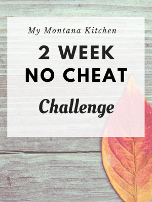 No Cheat November 2 Week Challenge