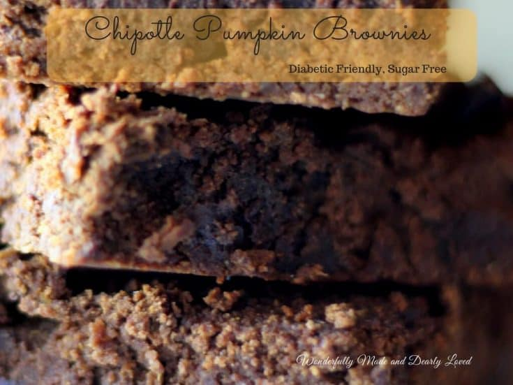 Chipolte Pumpkin Brownies (THM S, Low Carb)
