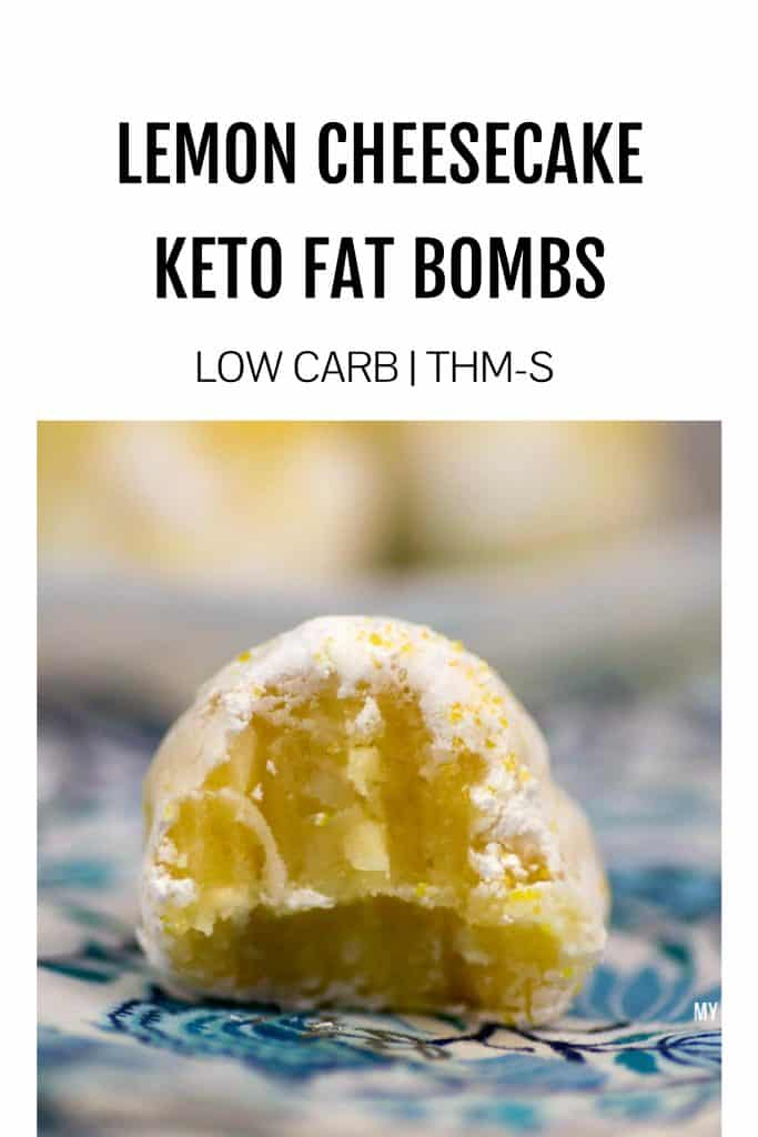 Lemon cheesecake keto fat bombs are a delicious and incredibly decadent way to get healthy fats into your body and stay eating well. This keto fat bombs recipe is about to become one of your all time favorite low carb lemon desserts! #ketolemon #lowcarbcheesecake