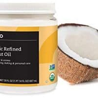 Organic Coconut Oil, Refined, 30 ounce
