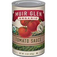 Muir Glen Organic Tomato Sauce, No Sugar Added, 15 Ounce Can