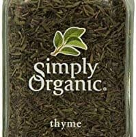 Simply Organic Thyme Leaf Whole Certified Organic, 0.78-Ounce Container