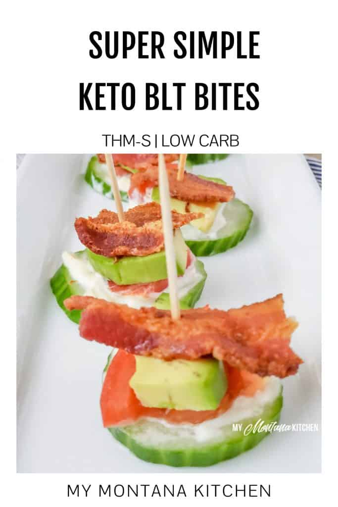 Super Simple Keto BLT Bites