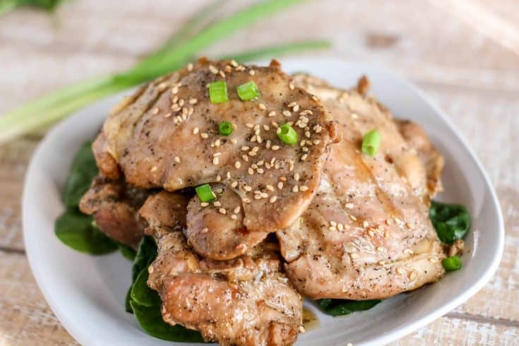 Super Simple Grilled Sesame Chicken Thighs My Montana Kitchen