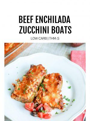 beef enchilada stuffed zucchini boats low carb