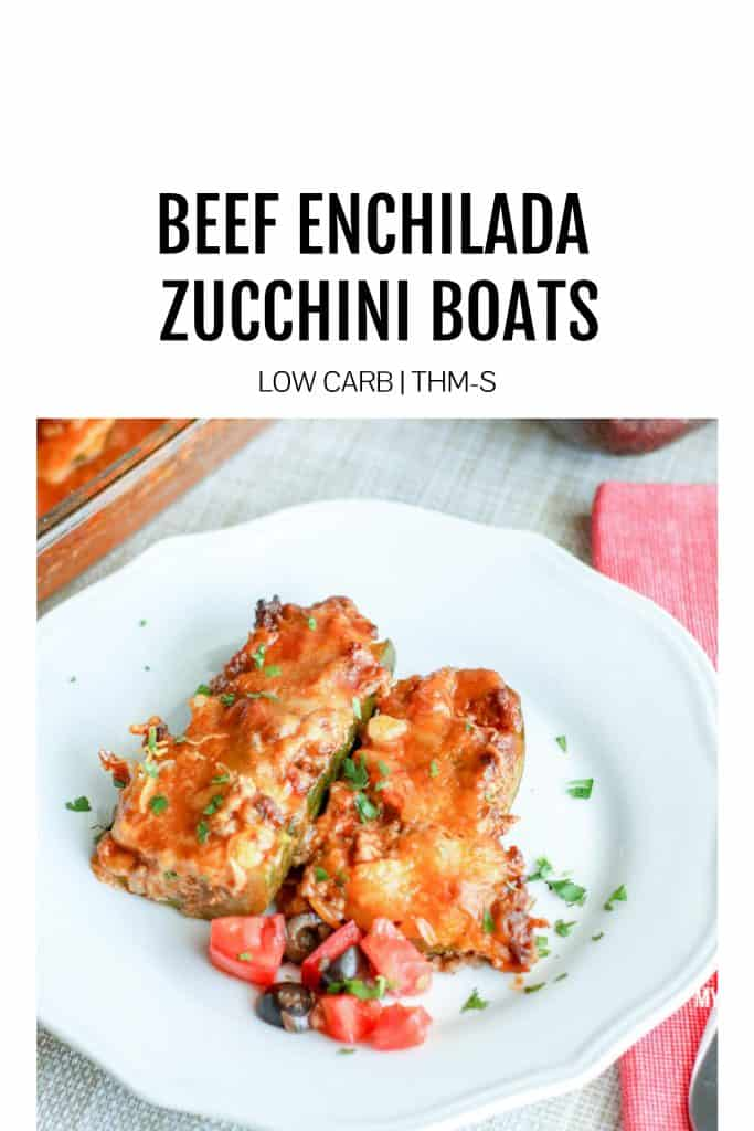 beef enchilada stuffed zucchini boats low carb