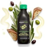 AmazonFresh Mediterranean Blend Extra Virgin Olive Oil, 16.9 fl oz (500 mL)
