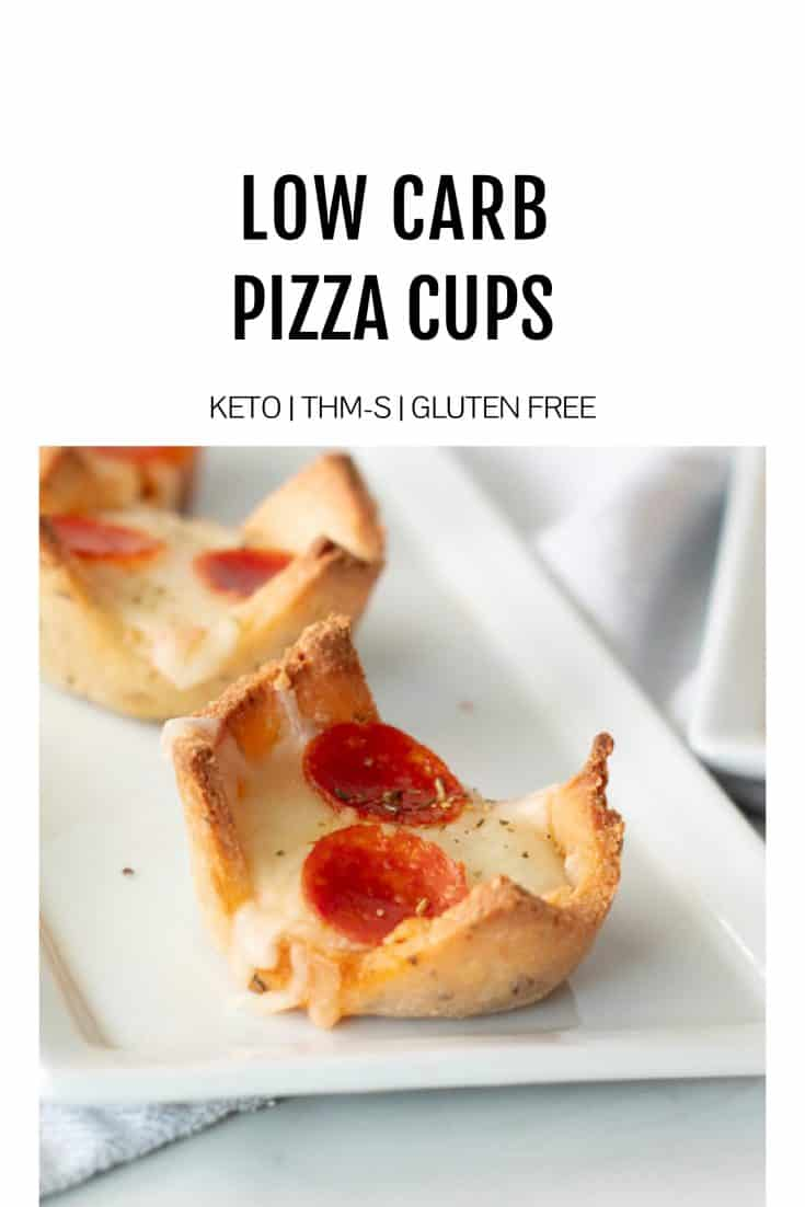 Low Carb Pizza Cups