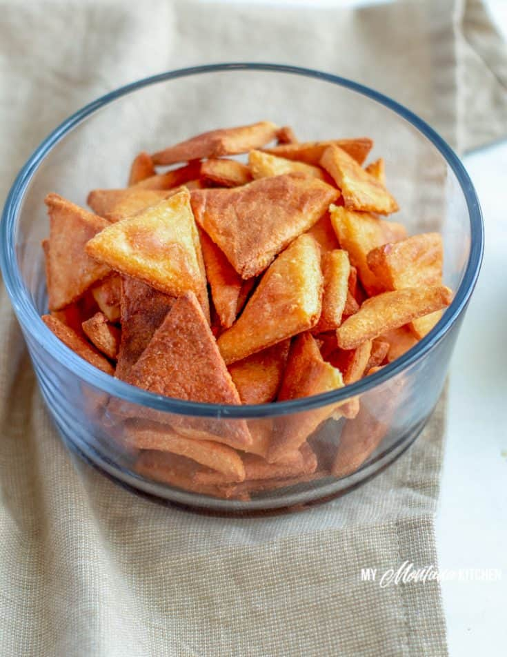 How to Make Low Carb Tortilla Chips