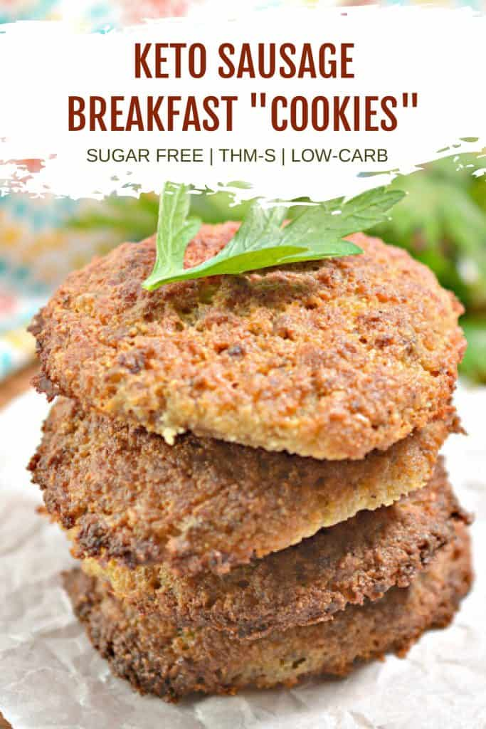 keto sausage breakfast cookies