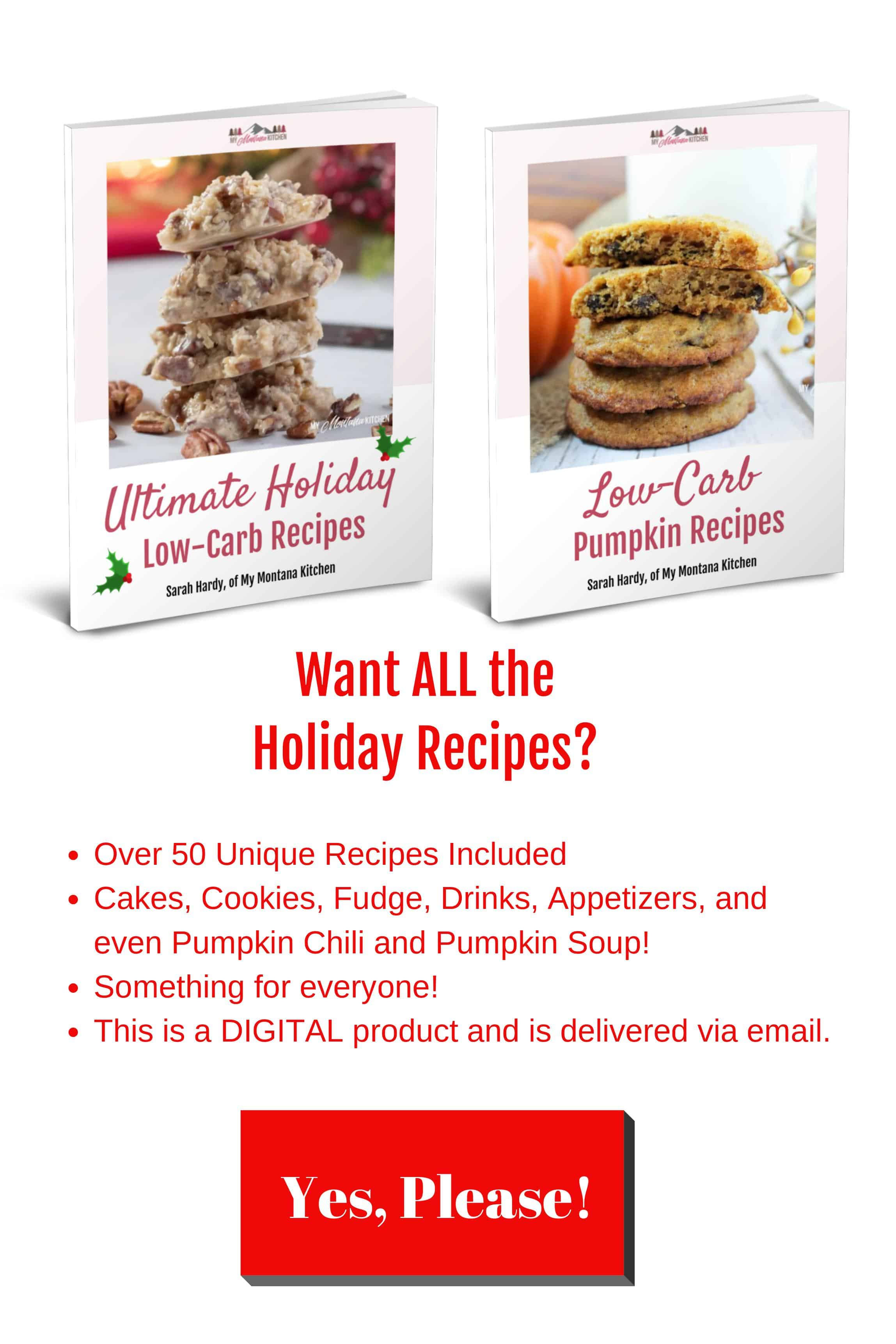 holiday low carb pumpkin low carb ebooks for sale