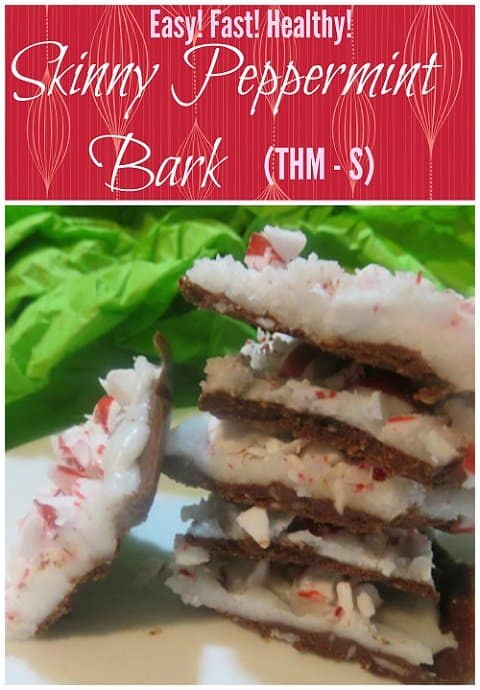Skinny Peppermint Bark
