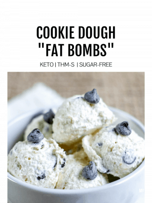 Featured Image for Cookie Dough Fat Bombs
