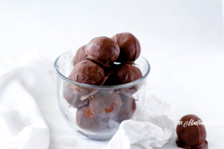 Image of low carb cookie truffles