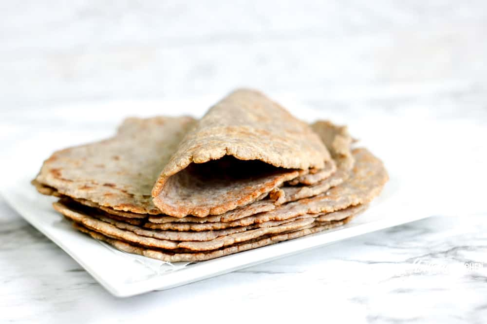 Image of homemade keto tortillas