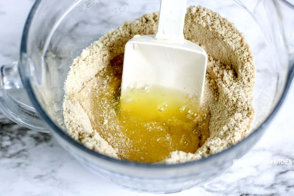Image of low-carb tortilla ingredients