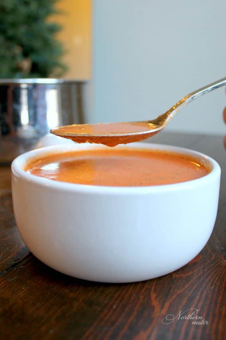 Roasted Red Pepper Soup | THM: S