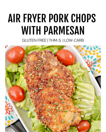 Featured Image for Air Fryer Pork Chops with Parmesan
