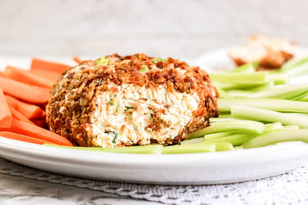 Image of bacon ranch cheeseball