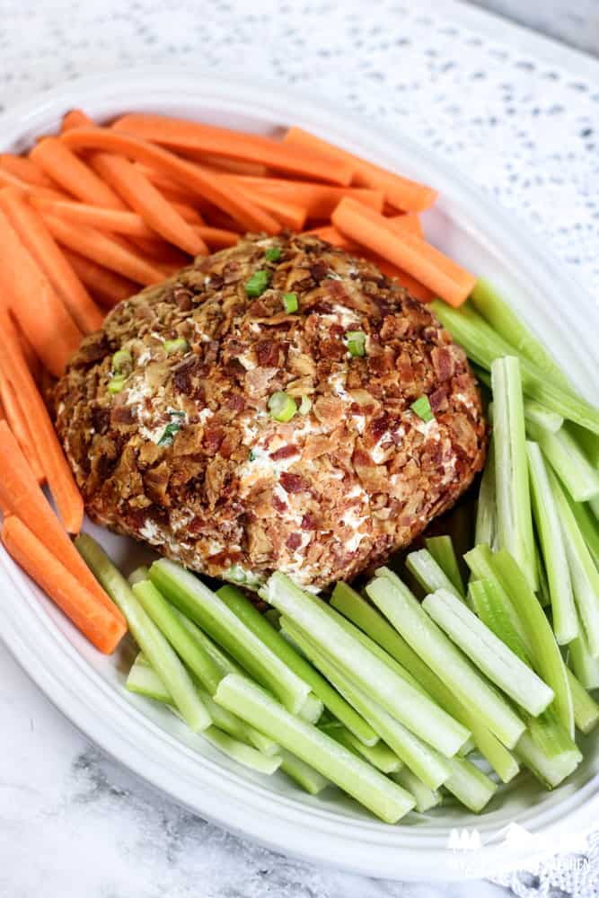 Image of bacon ranch cheeseball