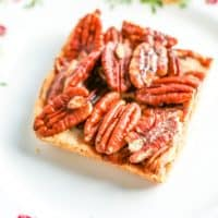 Image for low carb pecan pie