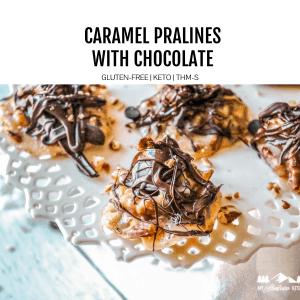 caramel pralines featured image