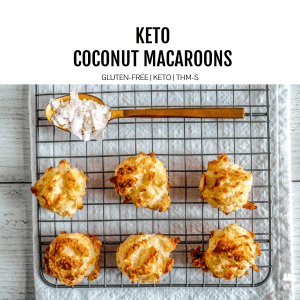 keto macaroons featured image