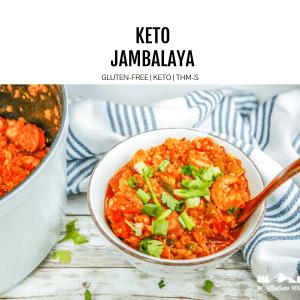 keto jambalaya featured image
