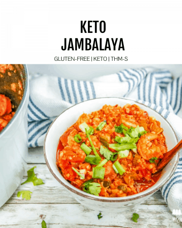 keto jambalaya featured image