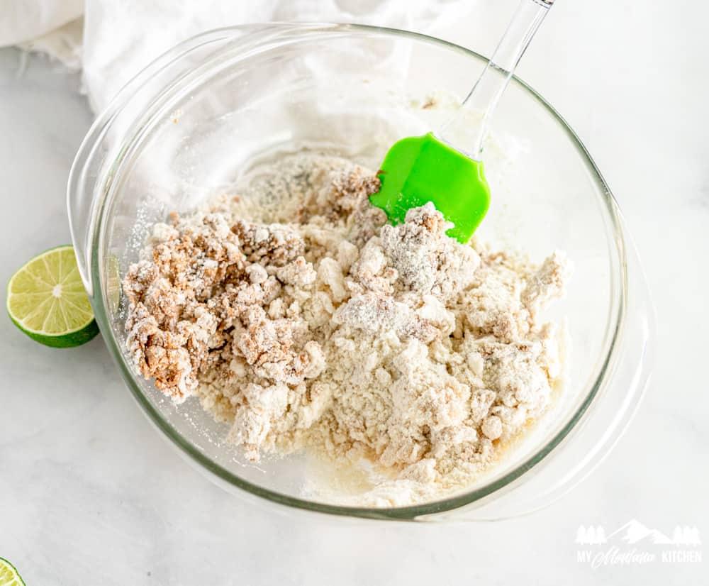 Keto Lime Energy Balls Dough