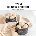Keto Lime Energy Balls