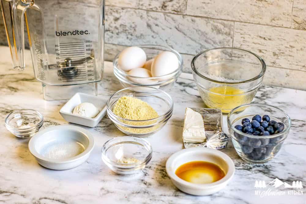 blueberry pancake ingredients