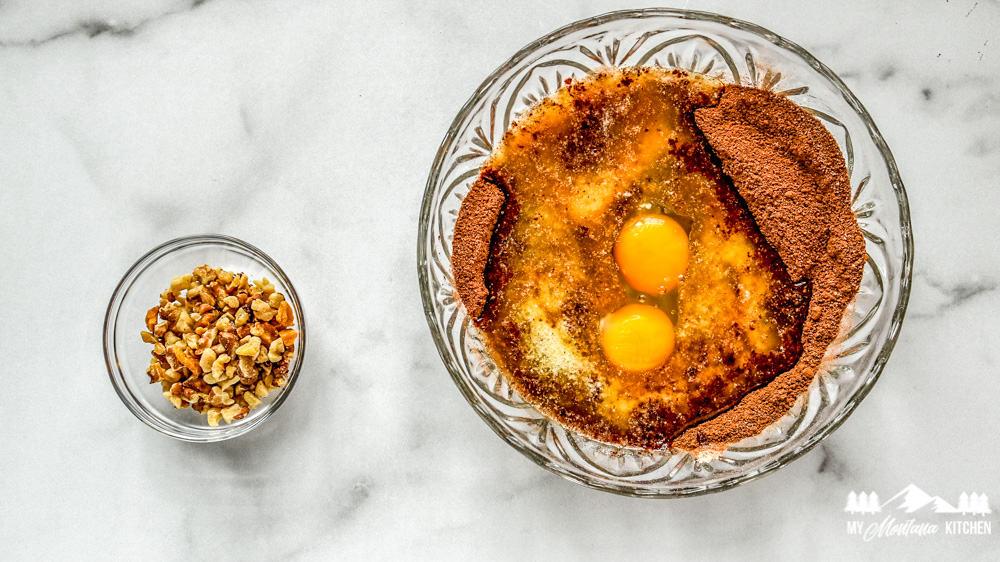 Ingredients for Keto Brownie Bites