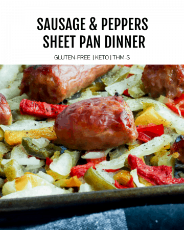 Sausage and Pepper Sheet Pan Dinner
